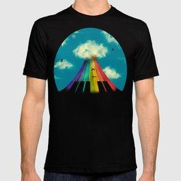 Seven notes, seven colors T-shirt