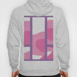 Expressive Windows of Purple Hoody
