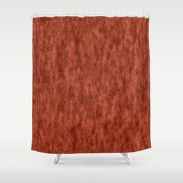 Light Crinkled Copper Rose Foil Shower Curtain