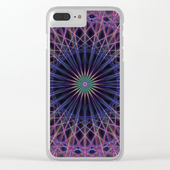 Space structure Clear iPhone Case