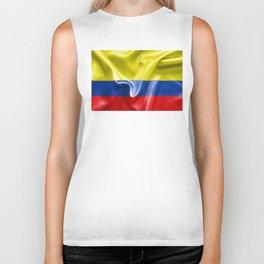 Colombian Flag Biker Tank