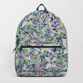 TALIA'S GARDEN Colorful Badass Floral Backpack