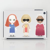 vogue iPad Cases featuring Vogue by Ricky Kwong