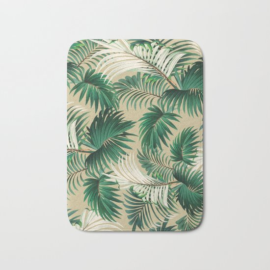 Tropical Jungle Bath Mat