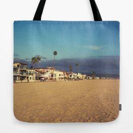 Newport Beach Houses Tote Bag