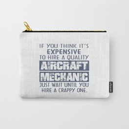 Aircraft Mechanic Carry-All Pouch