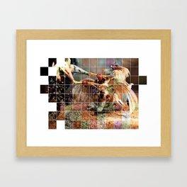 Cockfight 2 Framed Art Print