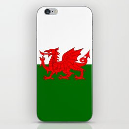 Welsh Dragon Flag iPhone Skin