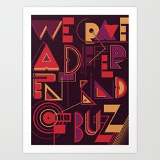 A Different Buzz Art Print