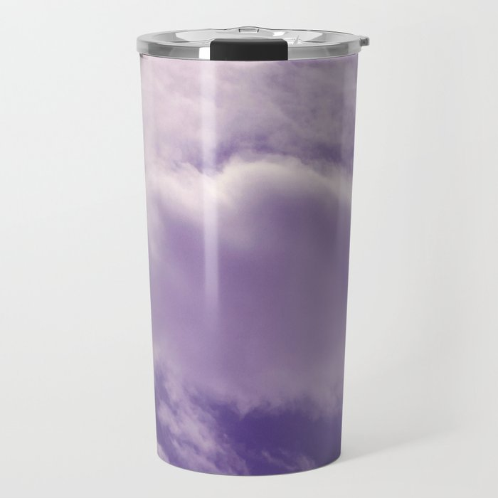 Purple Sky Travel Mug