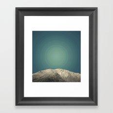 Snow Daze Framed Art Print