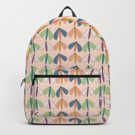 Summer Night Flutters | Peach Backpack