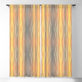 Abstract Sky Print Blackout Curtain