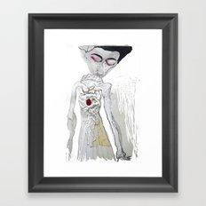 sonik youth Framed Art Print