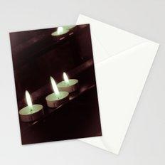 split toning candels Stationery Cards