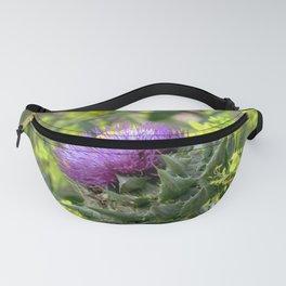 Purple Thistle Fanny Pack