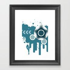 Vector iPhone case Framed Art Print