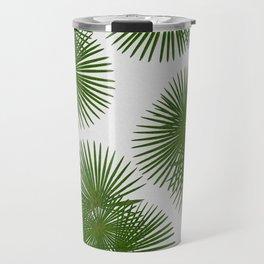 Fan Palm, Tropical Decor Travel Mug