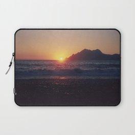 Crash into me - Romantic Sunset @ Beach #1 #art #society6 Laptop Sleeve