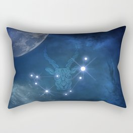Zodiac signs capricorn Rectangular Pillow