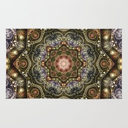 Mandalas from the Voice of Eternity 8 Rug