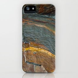 Abstract rock art iPhone Case