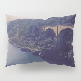To River and Road Pillow Sham