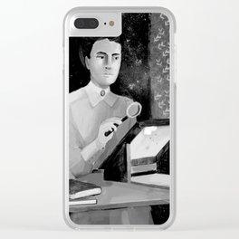Women in Science, Henriette Leavitt Clear iPhone Case