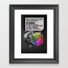 Bönng II Framed Art Print