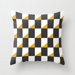 Retro Pattern - New York Throw Pillow