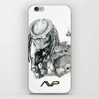 predator iPhone & iPod Skins featuring Predator. by Gary Barling