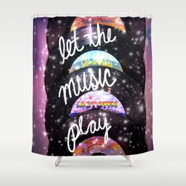 Let the Music Play Shower Curtain
