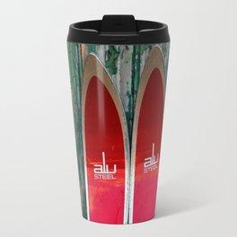 Vintage Skis - Fischer Alu Travel Mug