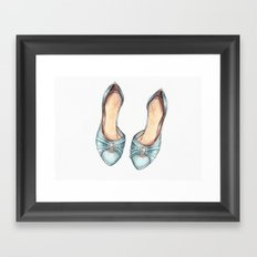 Heels Framed Art Print