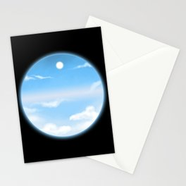 World Within Me - Blue Stationery Cards