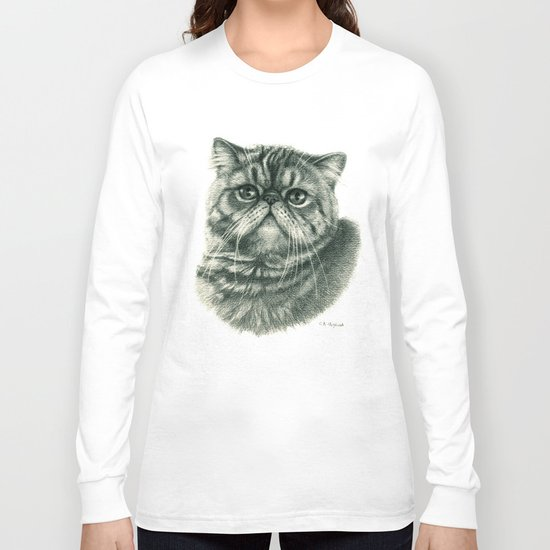 Shorthair Persan cat G088 Long Sleeve T-shirt