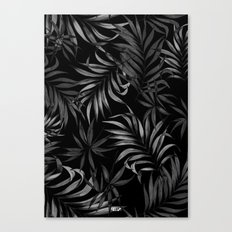 Dark Palms Canvas Print