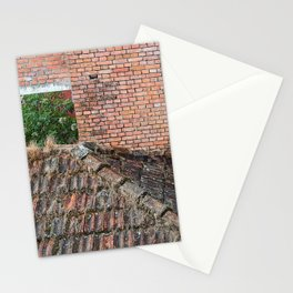 NEPALI BRICKS AND ROOFS Stationery Cards