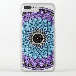 Mandala 8 Clear iPhone Case