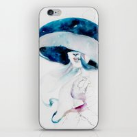 jellyfish iPhone & iPod Skins featuring jellyfish by Leilalilium