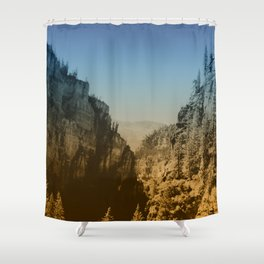 Valley Tryst Shower Curtain