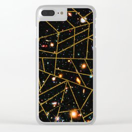 Abstract #950 Clear iPhone Case