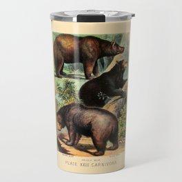 North American Bears Travel Mug