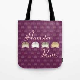 Hamster butts Tote Bag