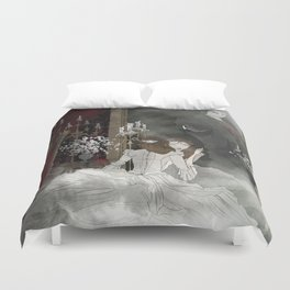 The Mirror Duvet Cover