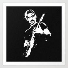 Zappa Guitar Art Print