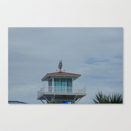 tower at myrtle beach Canvas Print