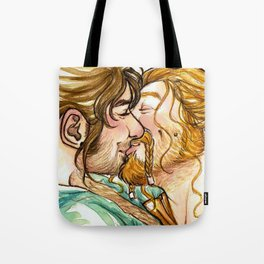 Happy Durins Kiss Tote Bag
