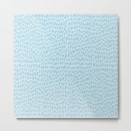 Seeing Spots (Blue) Metal Print