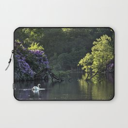 Summer lake reflections Laptop Sleeve